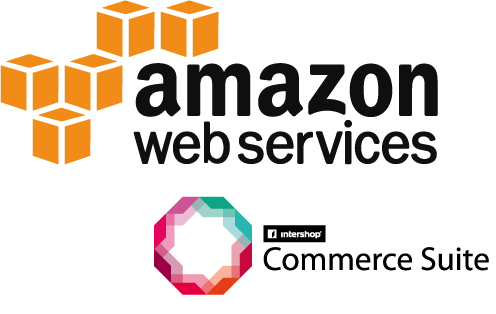 AWS + Commerce Suite Logo Large