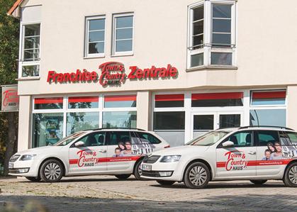 Firmensitz Town & Country Haus Lizenzgeber GmbH